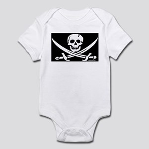 PIRATE FLAG Infant Bodysuit