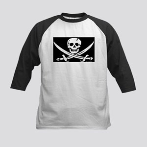 PIRATE FLAG Kids Baseball Jersey