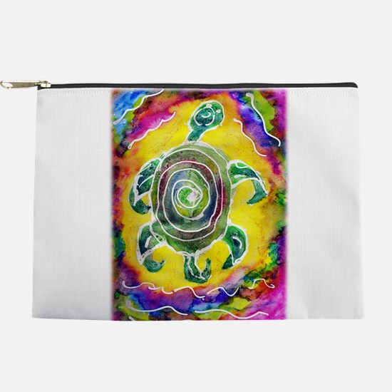 Abstract Turtle Makeup Pouch