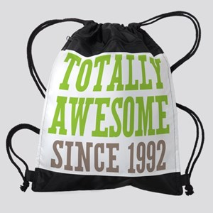 Totally Awesome Since 1992 Drawstring Bag