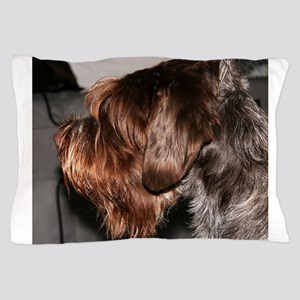 wirehaired pointing griffon Pillow Case