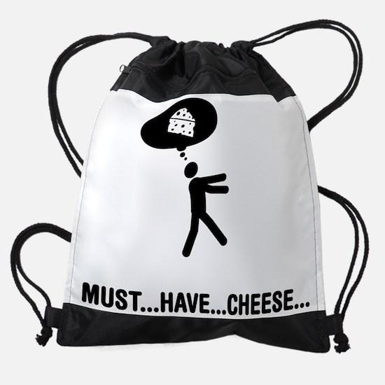 Cheese-A Drawstring Bag