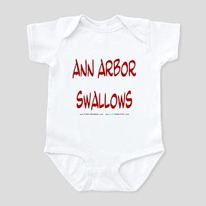 Ann Arbor swallows Infant Bodysuit