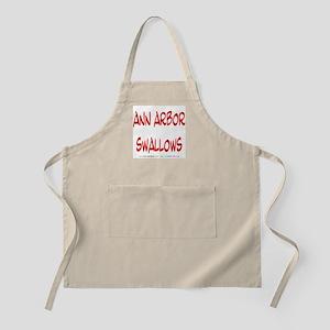 Ann Arbor swallows BBQ Apron