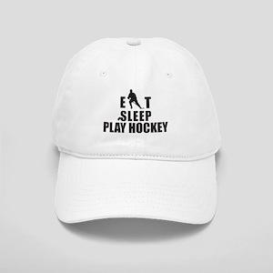 Eat Sleep Play Hockey Cap