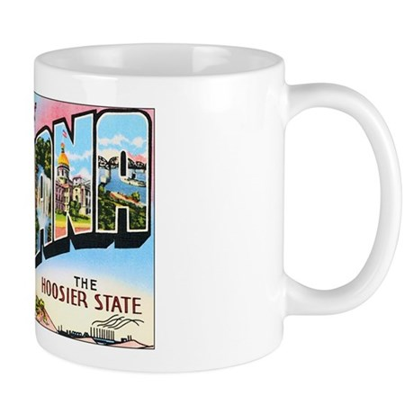 Indiana Greetings Mug