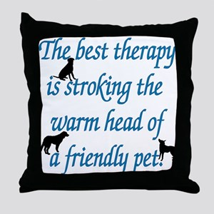 Warm Head Throw Pillow