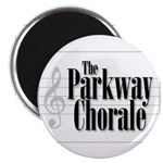 parkway chorale bw Magnet