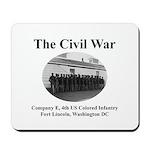 Fort Lincoln Civil War Infantry Mousepad