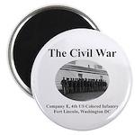 Fort Lincoln Civil War Infantry Magnet