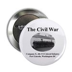Fort Lincoln Civil War Infantry Button