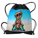 Yorkie Drawstring Bag