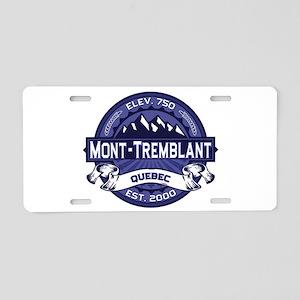 Mont-Tremblant Midnight Aluminum License Plate