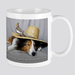 It takes a long time to grow an old friend Mug