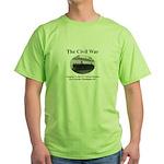 Fort Lincoln Civil War Infantry Green T-Shirt