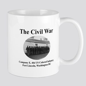 Fort Lincoln Civil War Infantry Mug
