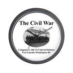 Fort Lincoln Civil War Infantry Wall Clock