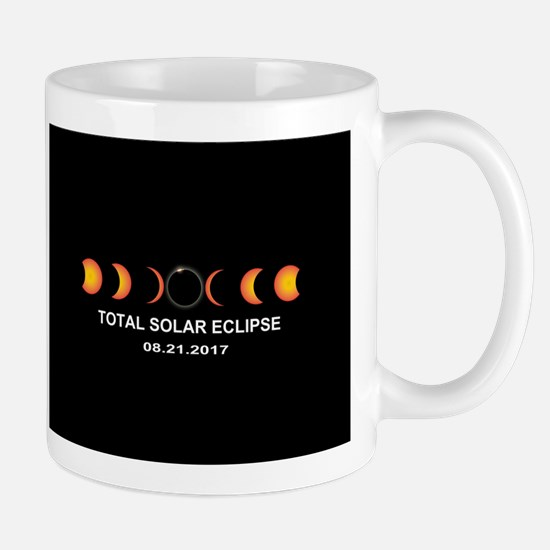 Total Solar Eclipse 2017 Small Mug