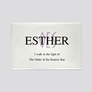 Esther OES Rectangle Magnet