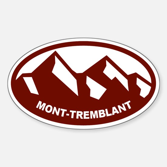 Mont-Tremblant Sticker (Oval)