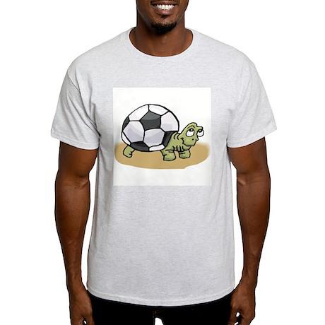 SOCCER TURTLE Ash Grey T-Shirt