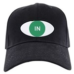 In Green Dot Baseball Hat