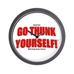 Go Thunk Yourself! Wall Clock