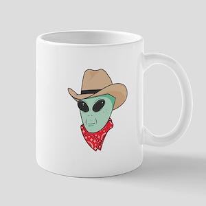 Cowboy Alien Mug