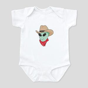 Cowboy Alien Infant Bodysuit