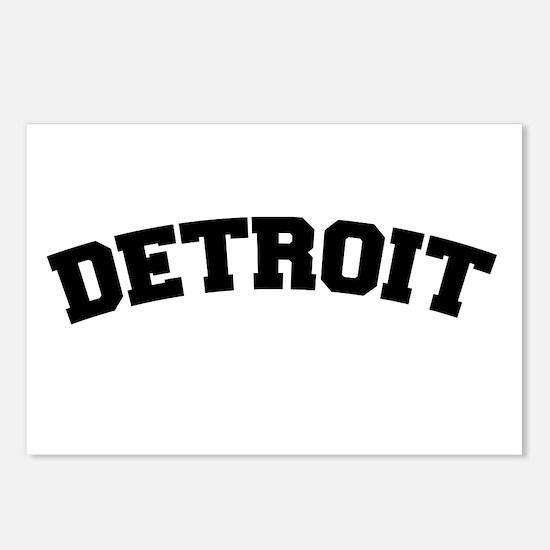 Detroit Black Postcards (Package of 8)