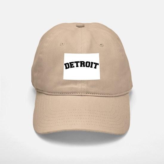 Detroit Black Baseball Baseball Cap