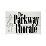 parkway chorale bw Rectangle Magnet (10 pack)
