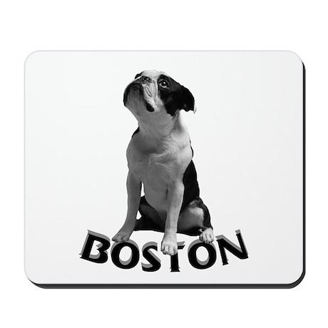 B & W Boston Mousepad