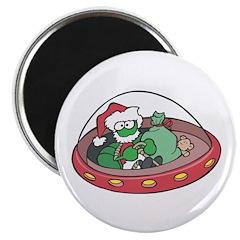Christmas Alien Magnet