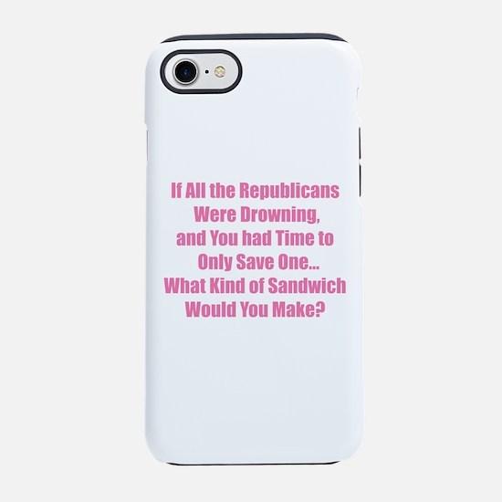 Republican Sandwich iPhone 7 Tough Case