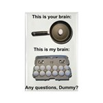 This Is Your Brain Rectangle Magnet (100 pack)