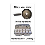 This Is Your Brain Mini Poster Print