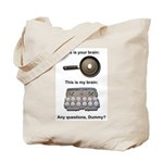 This Is Your Brain Tote Bag
