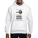 This Is Your Brain Hooded Sweatshirt