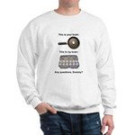 This Is Your Brain Sweatshirt