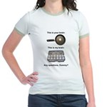 This Is Your Brain Jr. Ringer T-Shirt