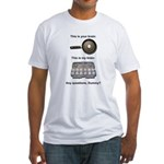 This Is Your Brain Fitted T-Shirt