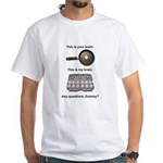 This Is Your Brain White T-Shirt