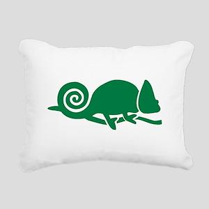 Chameleon Rectangular Canvas Pillow