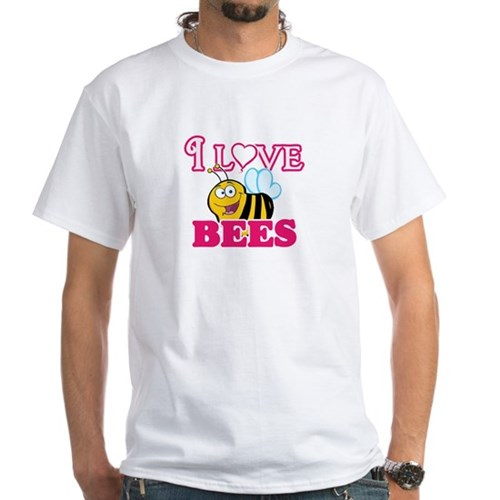 I Love Bees T-Shirt