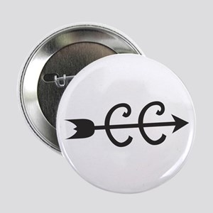 """cross country symbol 2.25"""" Button"""