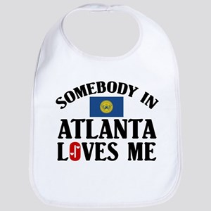 Somebody In Atlanta Bib
