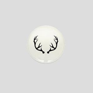 Deer antlers Mini Button