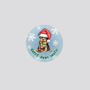 Holiday Yorkie Mini Button