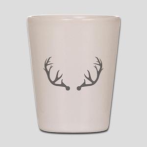 Deer antlers Shot Glass